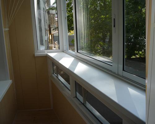 Подоконники пвх - отличное дополнение качественного окна.